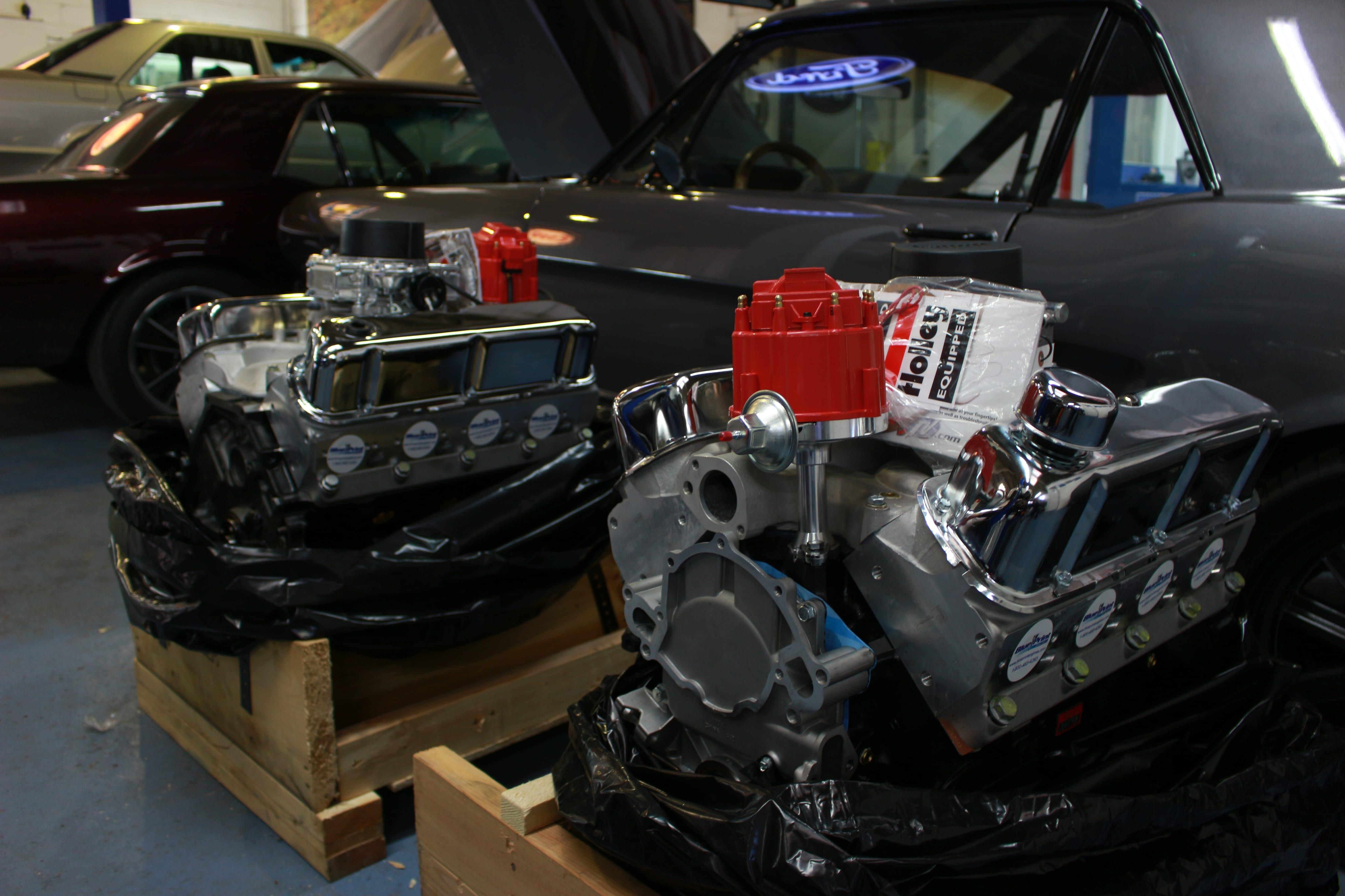 Pilgrim Fully Overhauled Engine